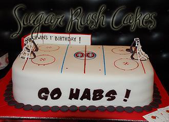 Hockey Cakes Images