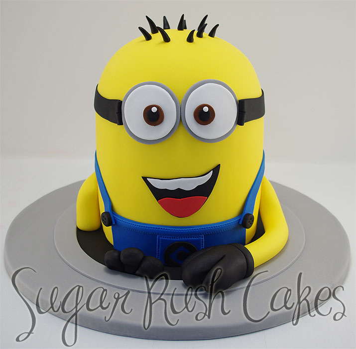 minion cartoon Sugar Rush Cakes Montreal
