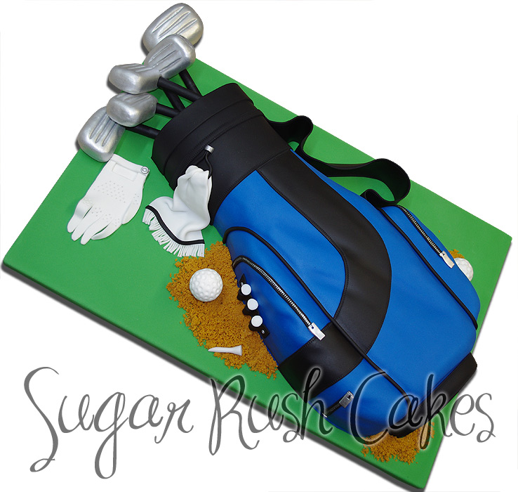 Golf Bag Cake Images : Celebration Cakes Sugar Rush Cakes Montreal