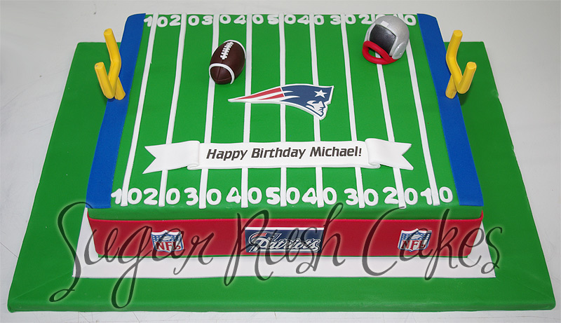 Patriots Birthday Cake