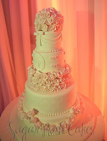 Gâteaux de mariage à Montréal  Sugar Rush Cakes Montreal