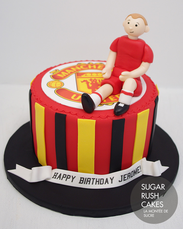 Manchester United Cakes Images
