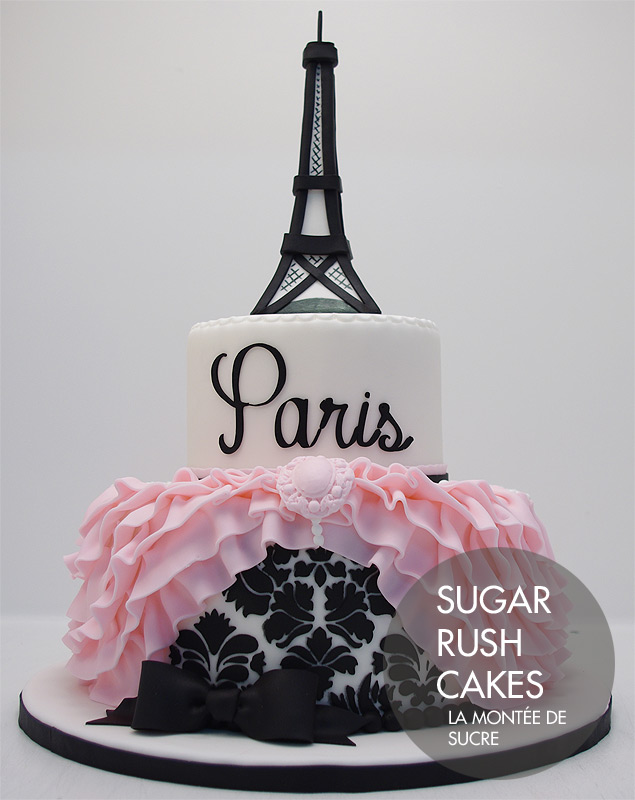 Cake Images With Name Pari : Celebration Cakes Sugar Rush Cakes Montreal