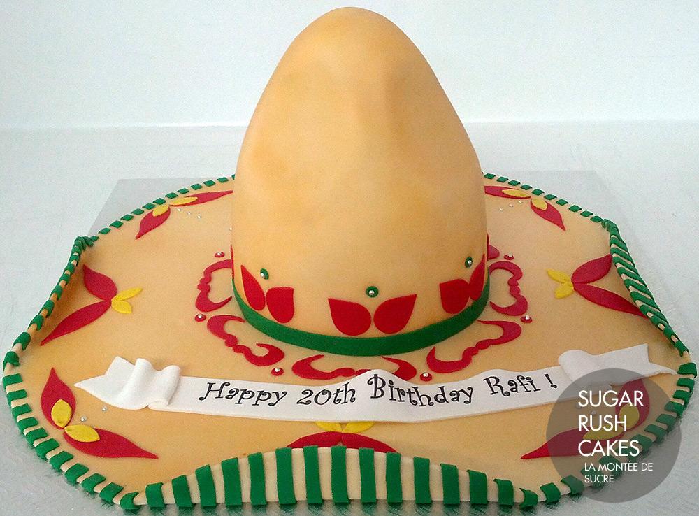 Sombrero cake