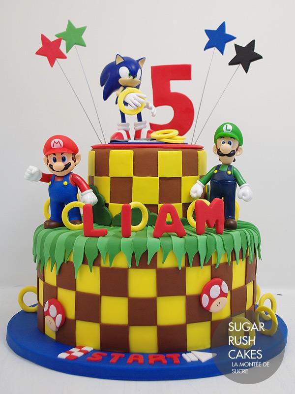 Sonic Super Mario