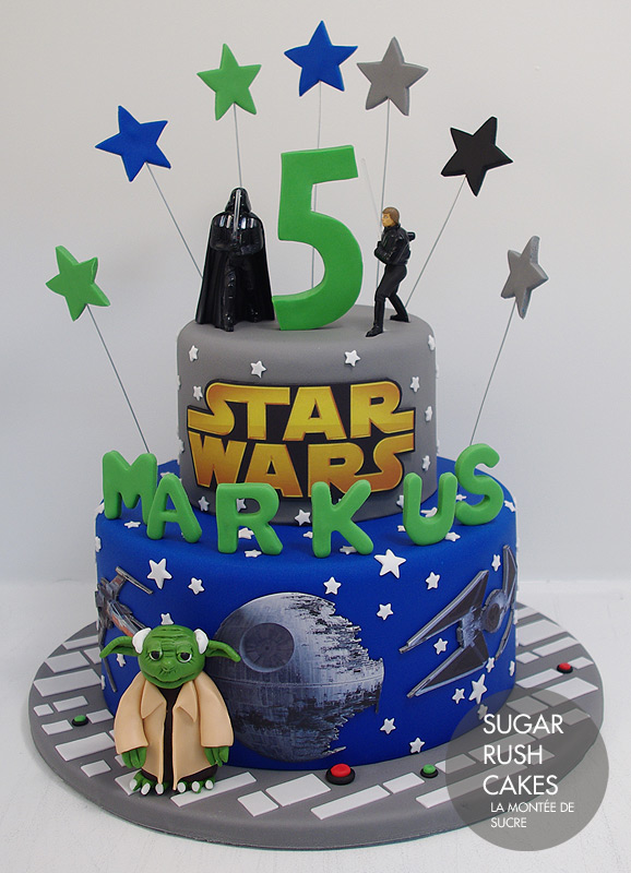 g teau star wars sugar rush cakes montreal. Black Bedroom Furniture Sets. Home Design Ideas