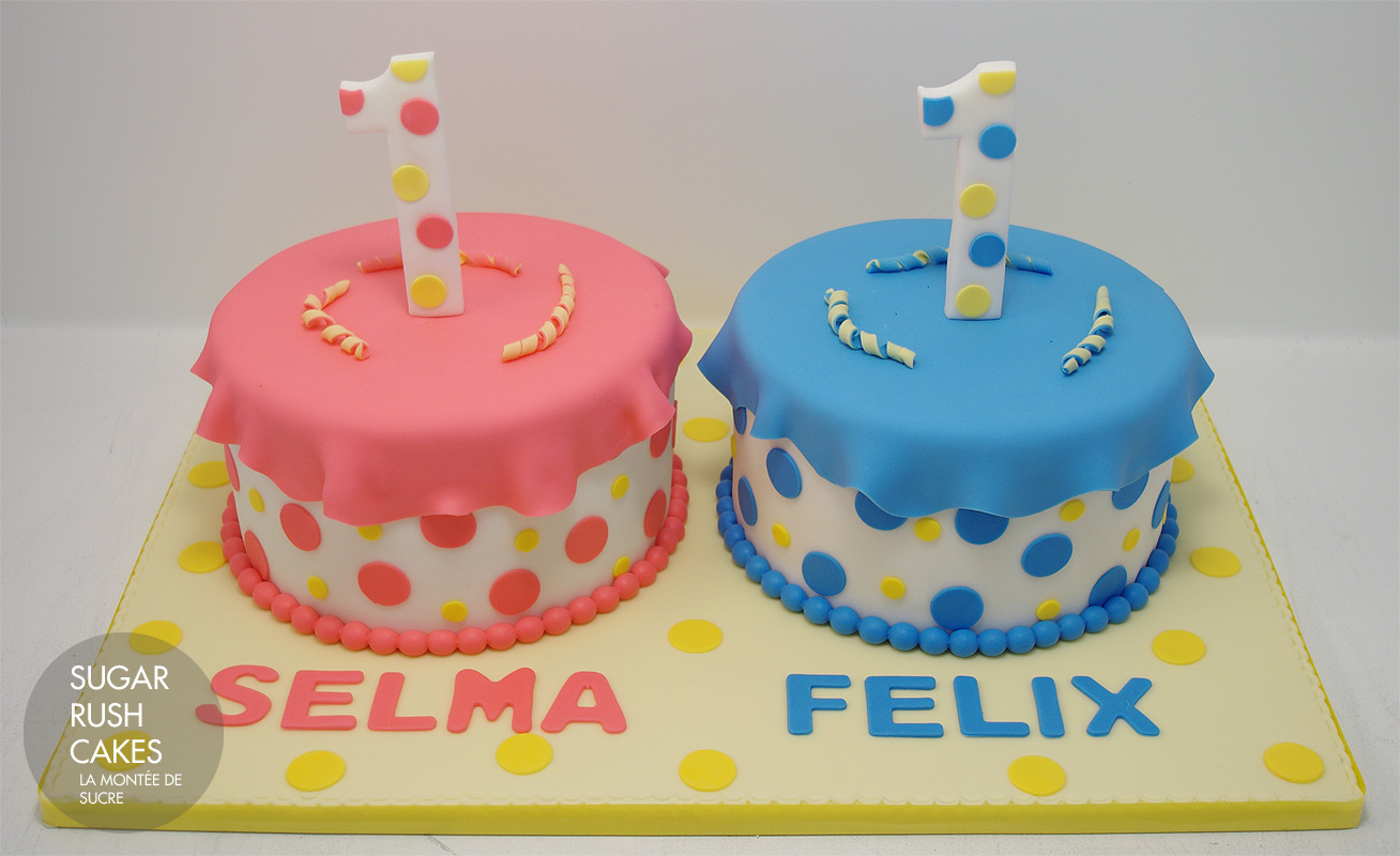 Cake Images For Twins : Birthday Cakes For Twins ~ Image Inspiration of Cake and ...