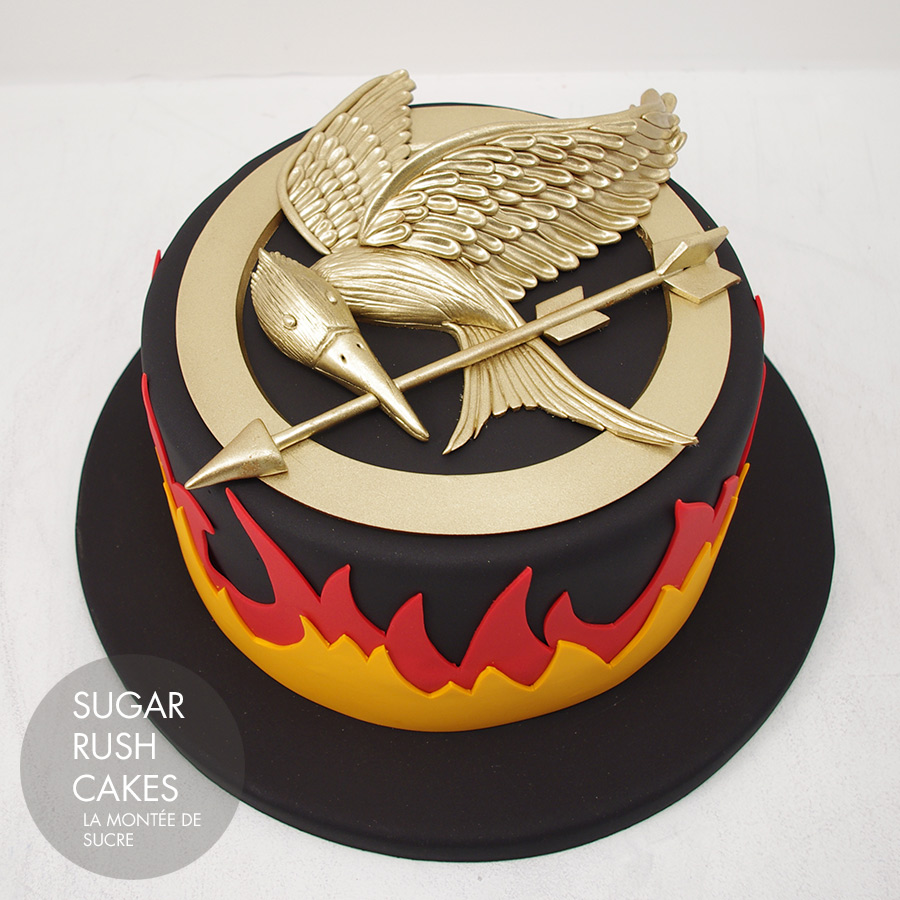 Birthday Cake Hunger Games