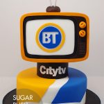Breakfast television cake