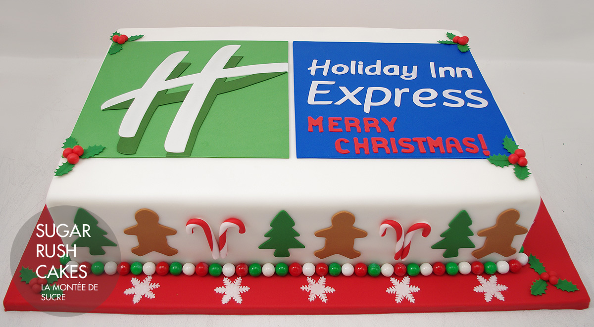 Holiday Inn cake