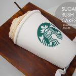 Starbucks venti cake