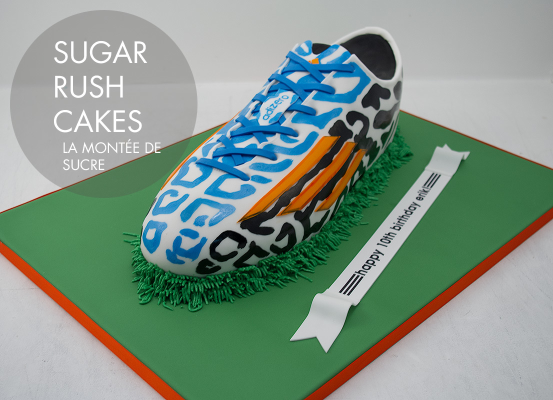 Adidas Zero shoe cake
