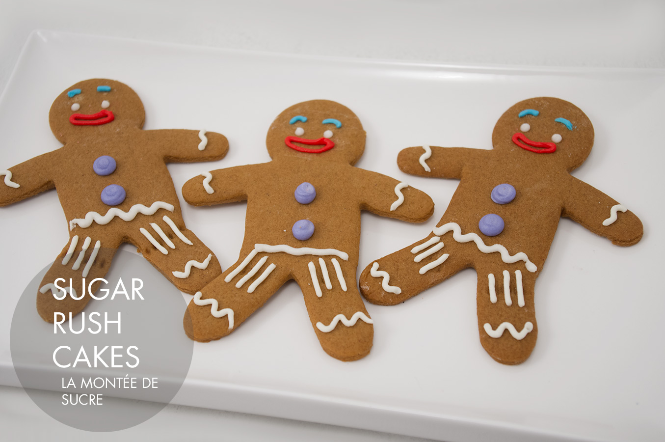 Gingy gingerbread man cookies