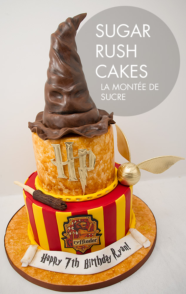 g teau harry potter sugar rush cakes montreal. Black Bedroom Furniture Sets. Home Design Ideas
