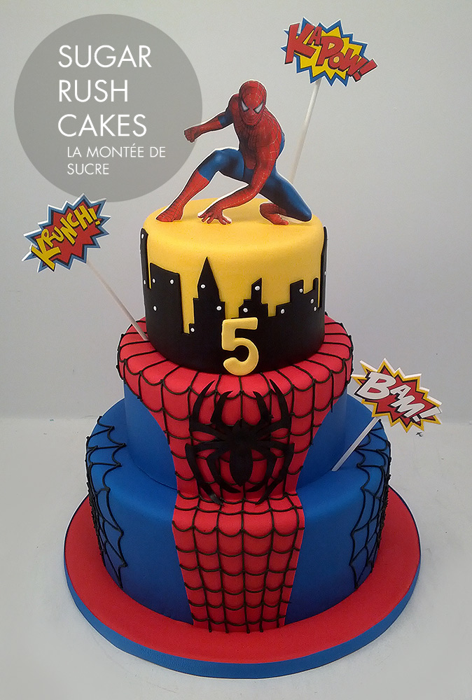 Spider Man Cake , +12 Spider-man Party Ideas Mom's little hero has grown another year and it's just the chance to have a wonderful party with a theme that kids adore, the amazing Spider-man. Prepare the mothers throw nets and spider sense so that all the guests have incredible moments and organize an unforgettable children's party. www.partymazing.com