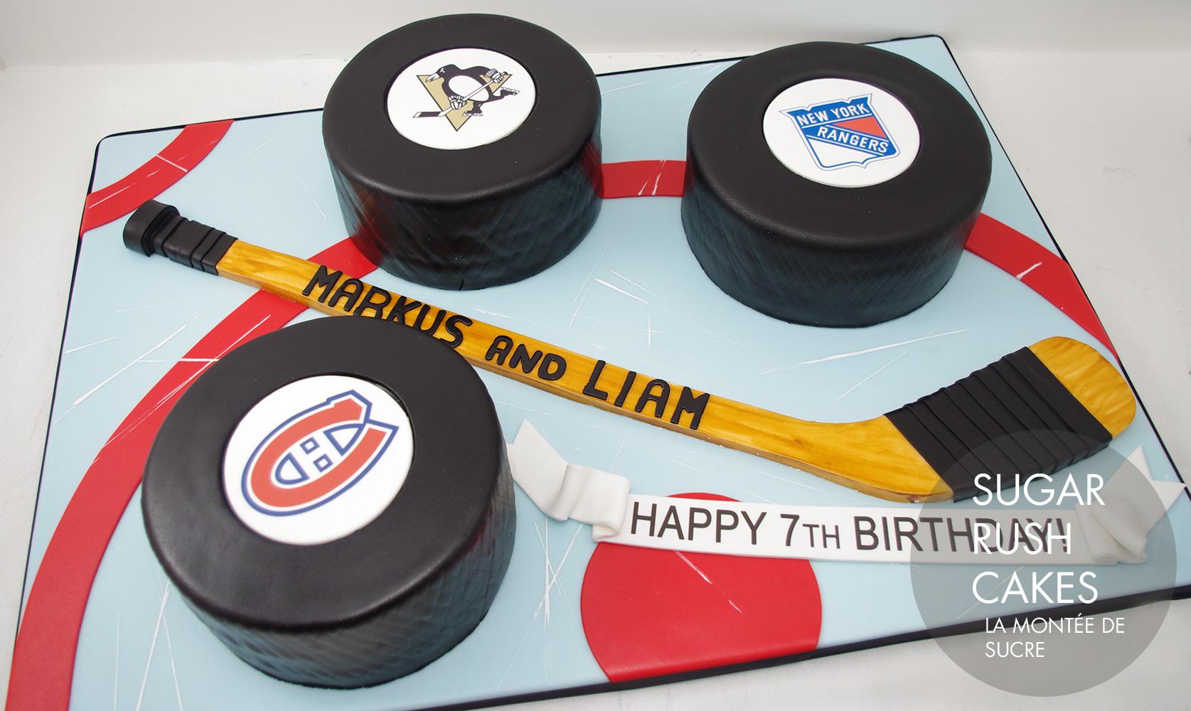 hat trick cake