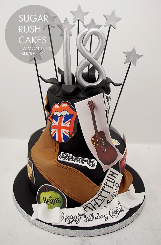 Rock n Roll cake