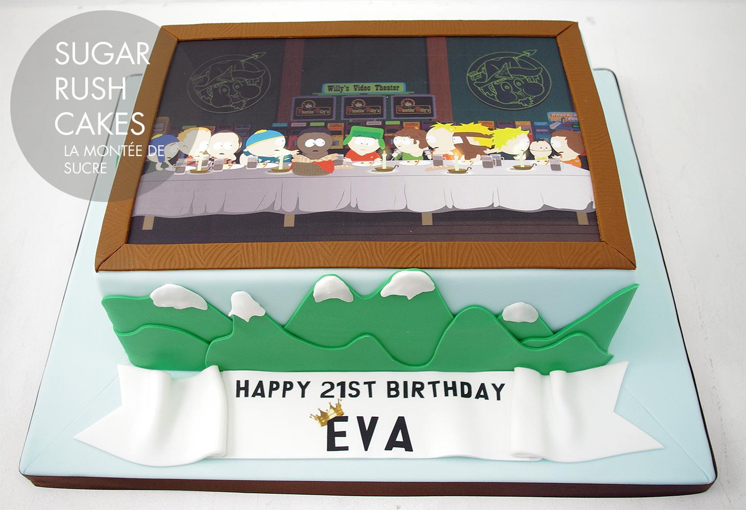 South Park Cake