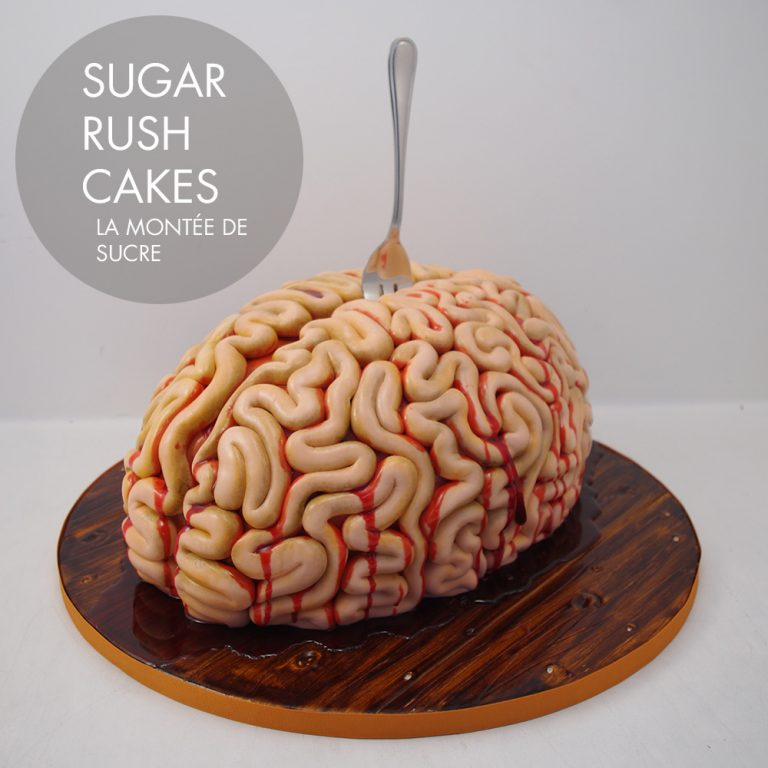 Bloody Brains cake