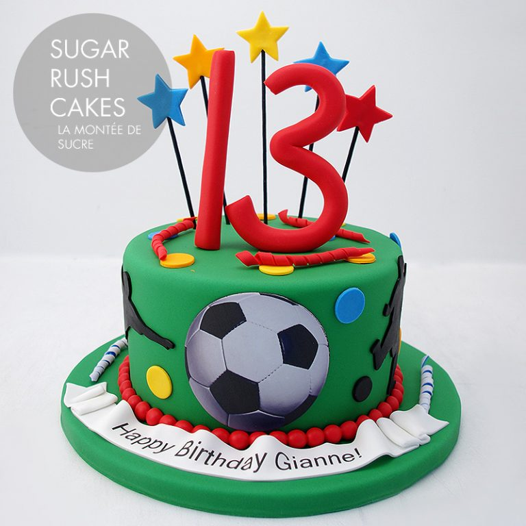 73e3dcc35f9f Soccer cake. Back to Top. Copyright © 2019 Sugar Rush Cakes Montreal ...