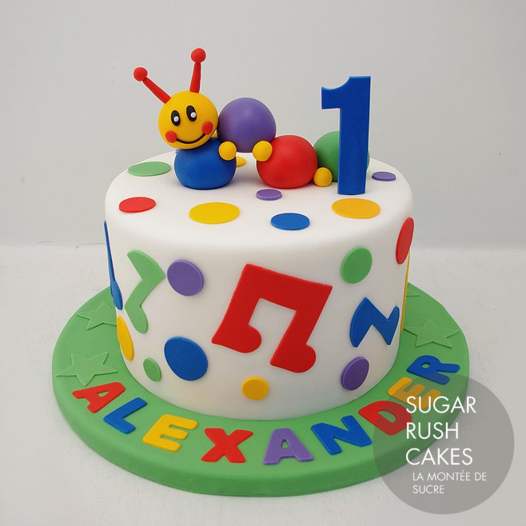 Little Einstein Cake For 8 Sugar Rush Cakes Montreal