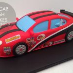 rally car cake