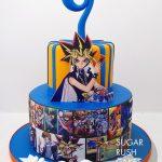 Yu-Gi-Oh! cake