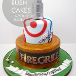 Firegrill cake