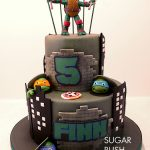 TMNT Raphael cake