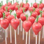 radish cakepops