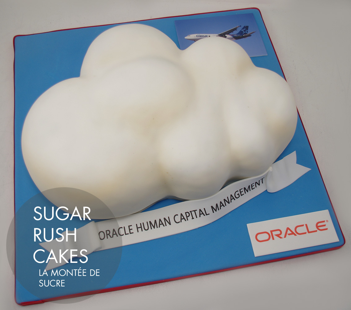Oracle cloud cake