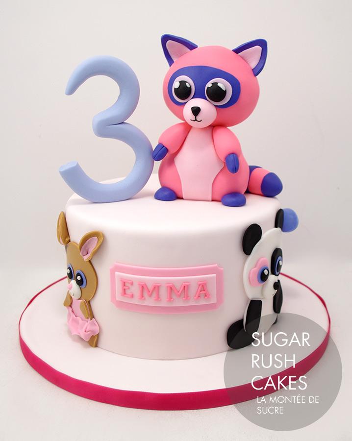ty Beanie Babies Cake