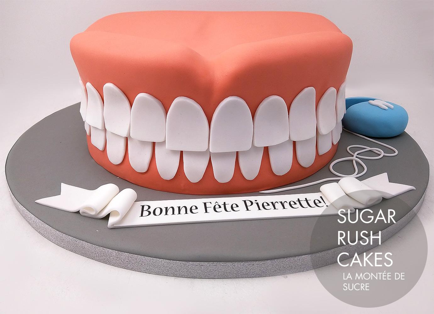 Denture cakes