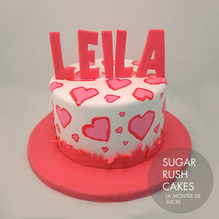eea18a6629a7 Leila cake for 8