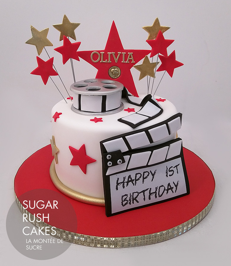 movie star cake