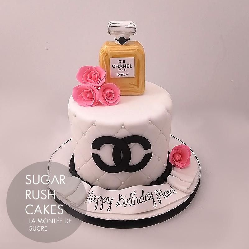 Cake Design Kurse Zurich : Chanel Perfume Cake