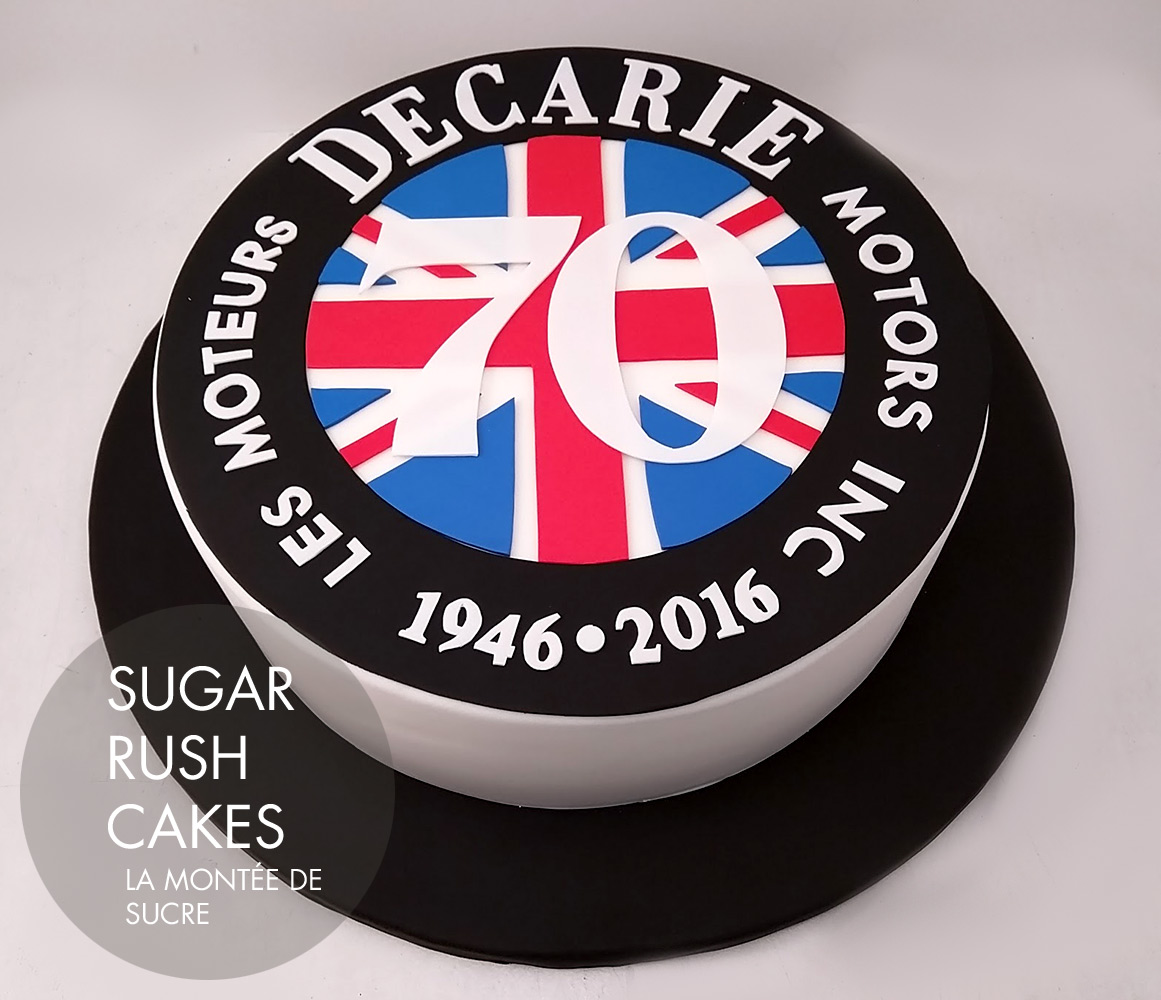Decarie Motors Cake