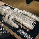 Battlestar Galactica cake