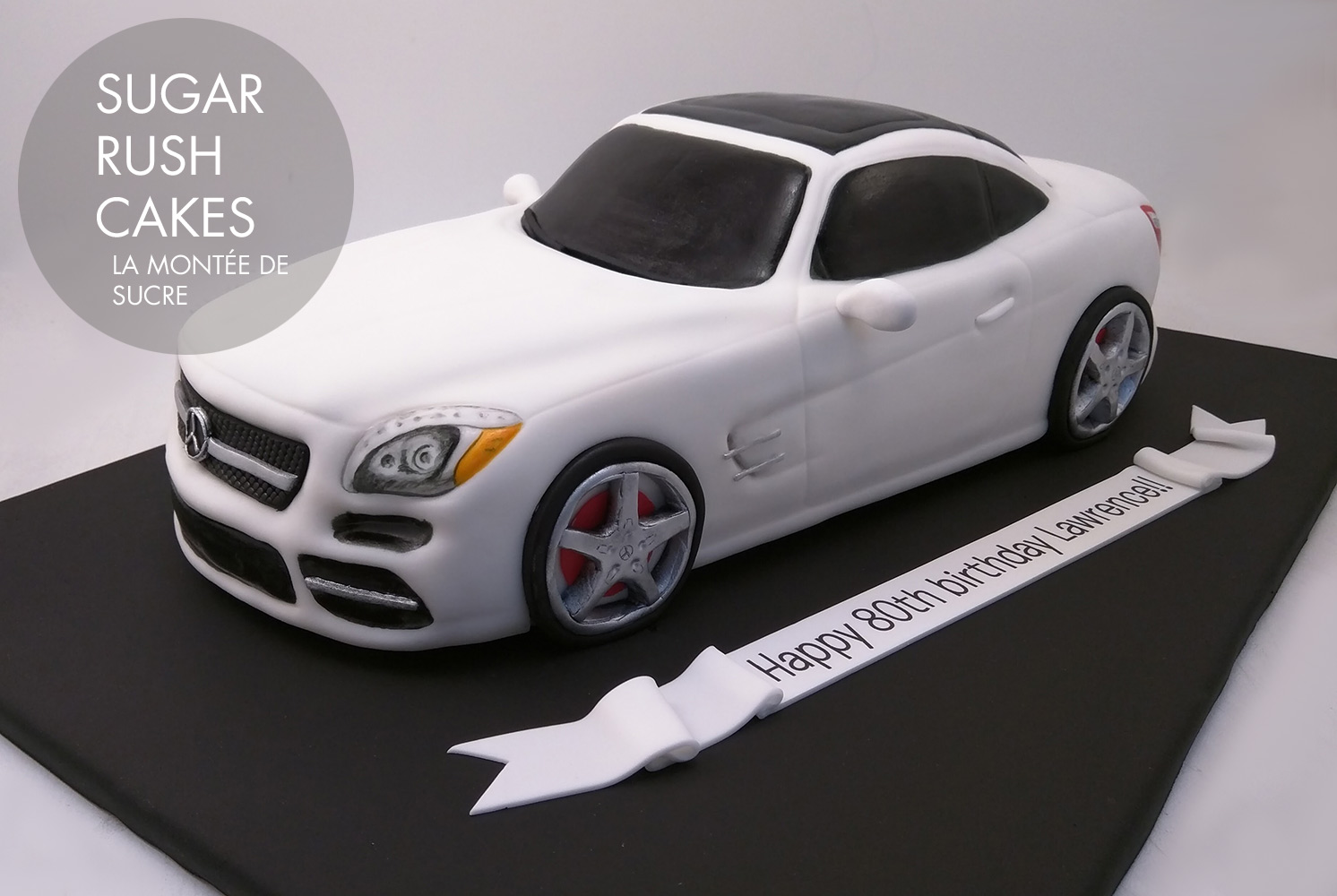 Mercedes Benz Cake Sugar Rush Cakes Montreal