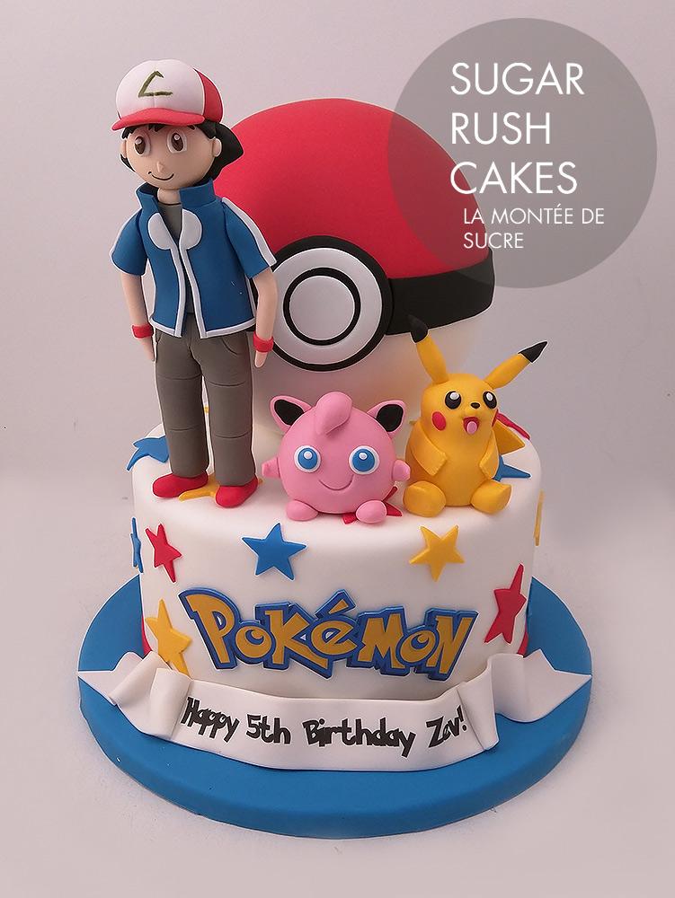 Pokemon Ash Ketchum Cake