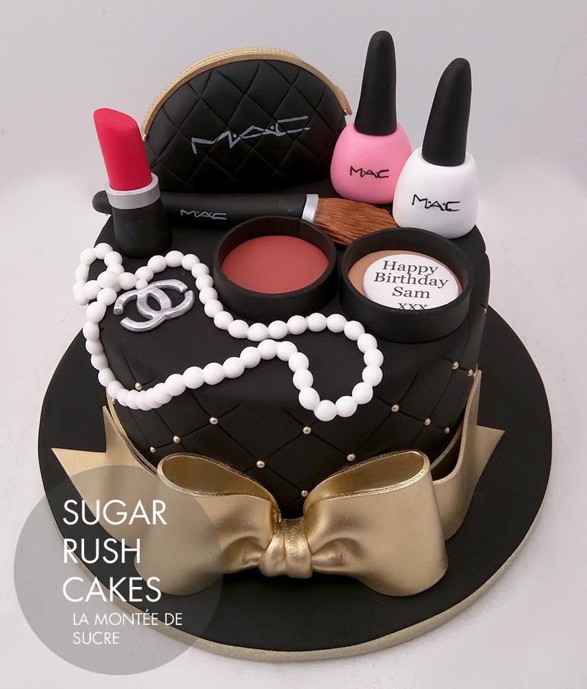 Mac Fashion Cake Sugar Rush Cakes Montreal