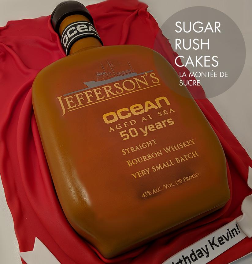 Jefferson's Ocean Bourbon cake