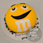 Giant M&M Cake