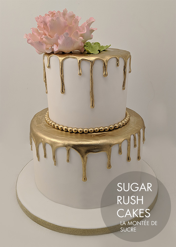Gold Drizzle Cake