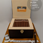 COHIBA Cigar box cake