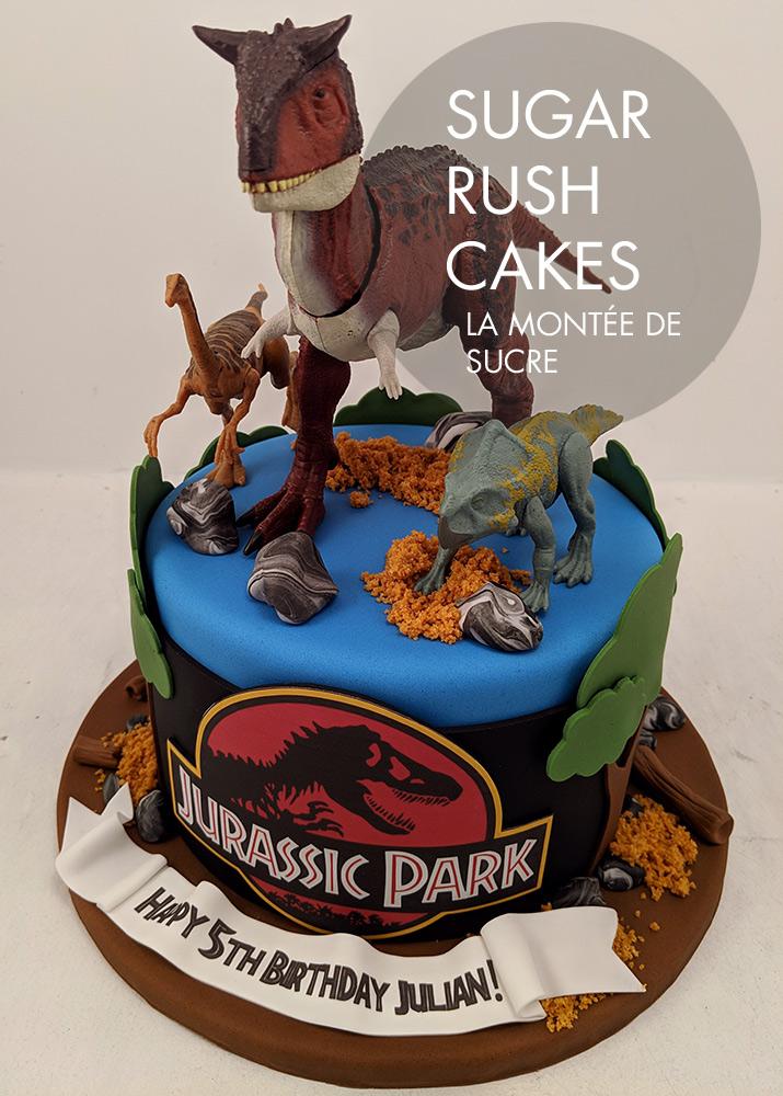 Jurassic Park Cake
