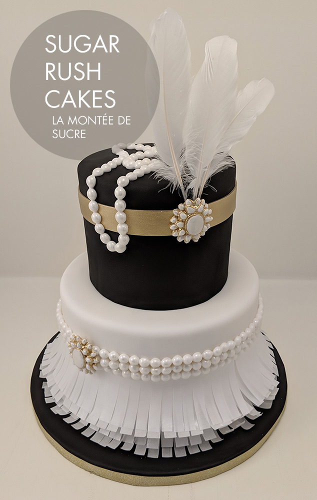 Roaring 20 S Cake