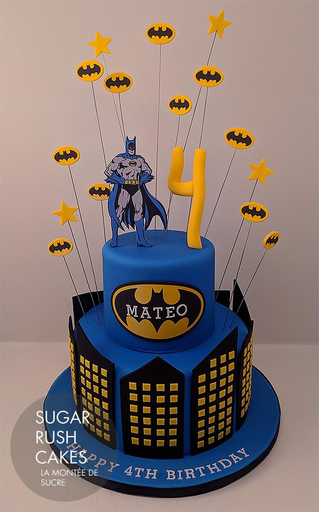 Batman Batcake Teen Titans Go Cake