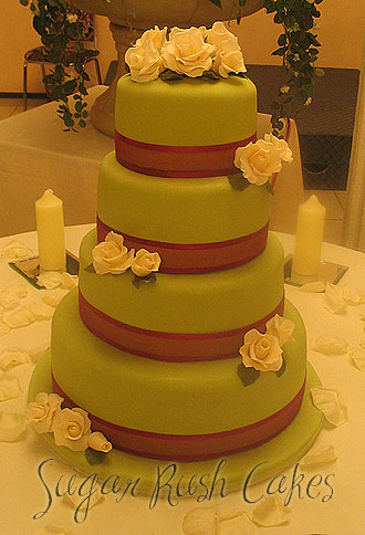montreal wedding cake bakeries wed 4t green fucsia 17530
