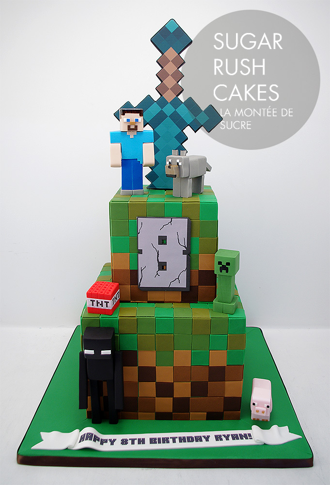 minecraft wedding cake minecraft tiered cake 17387